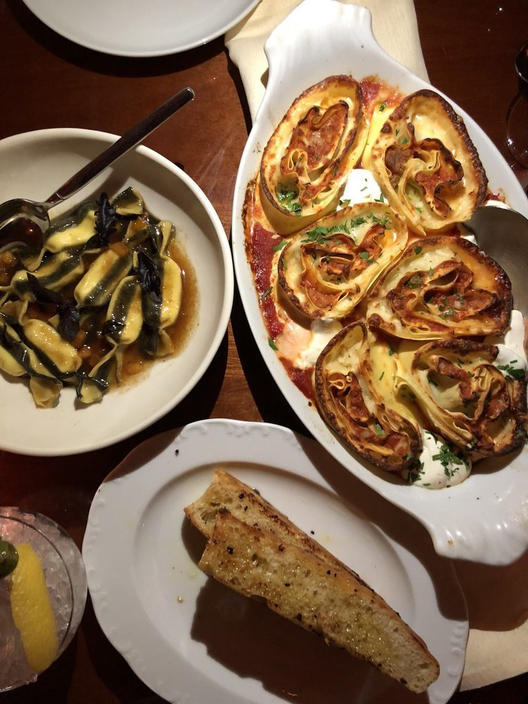 Lasagna for two at Don Angie