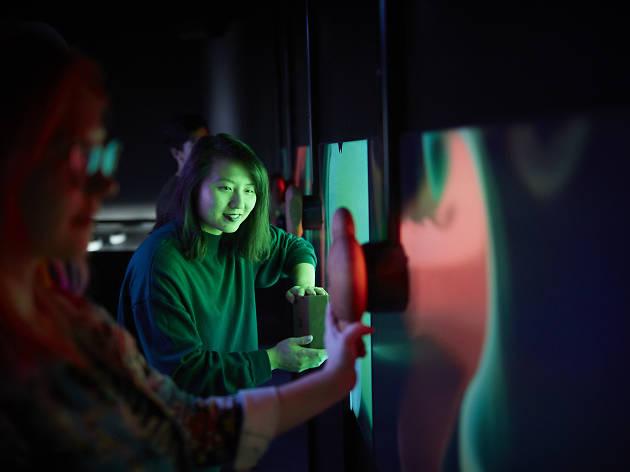 Scienceworks Beyond Perception Party Beyond
