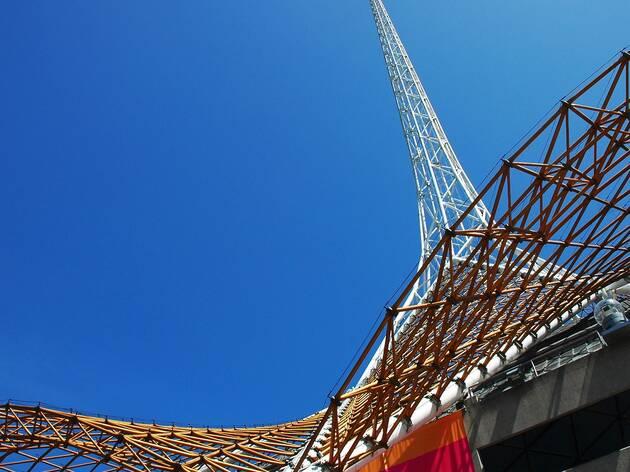 Arts Centre Tower Melbourne