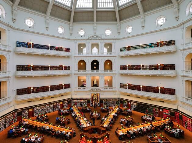 Reading room state Library