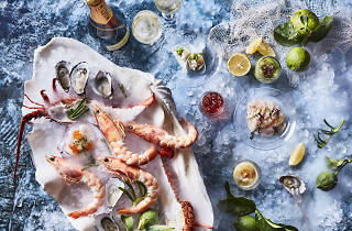 BLACK seafood and champagne lunch RGB H