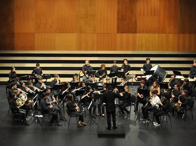 Orquestra sopros Conservatório de Música de Sintra