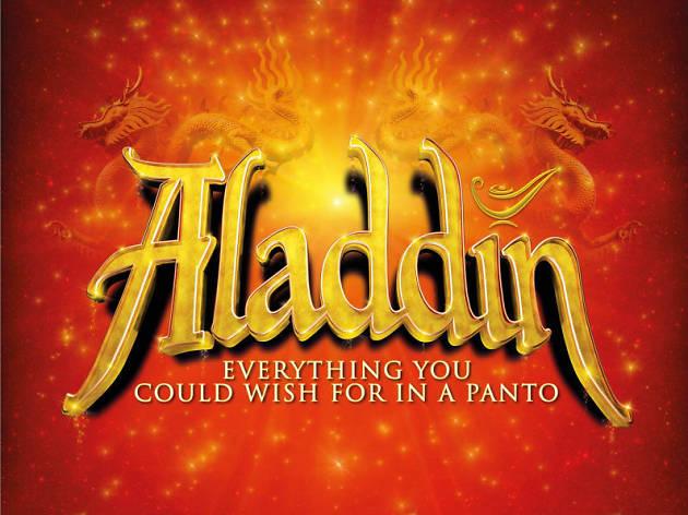 New Wimbledon Theatre's 2018 panto is 'Aladdin'