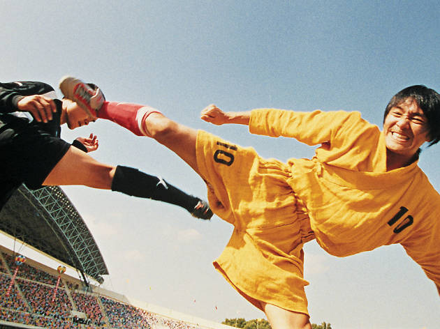 futebol de shaolin