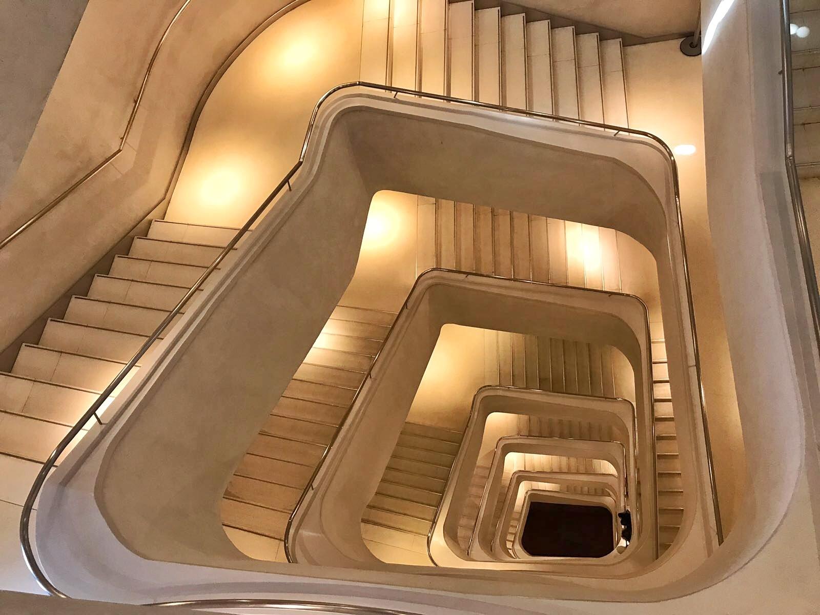 Caixa Forum Madrid escalera