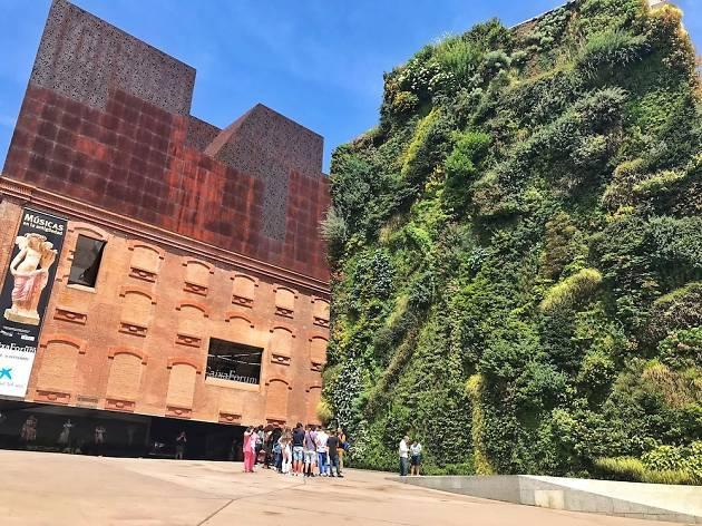 Caixaforum Madrid jardin vertical