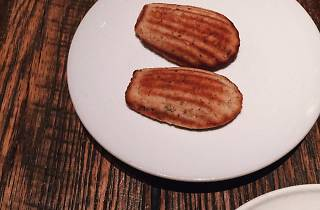 Bone marrow madeleines at Nico