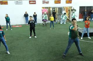Gran fiesta futbolera (Foto: Cortesía KidZania)