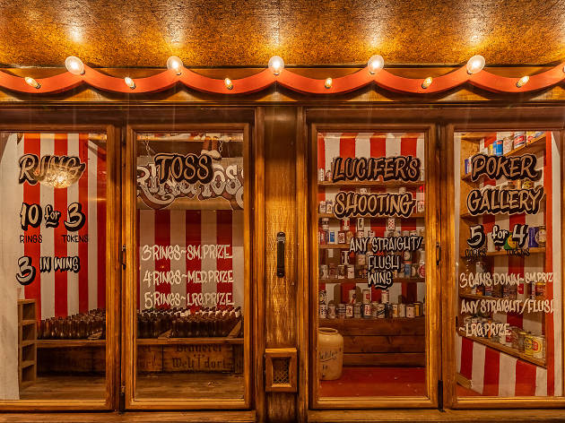 The Houston Brothers' new bar brings a carnival to Hollywood