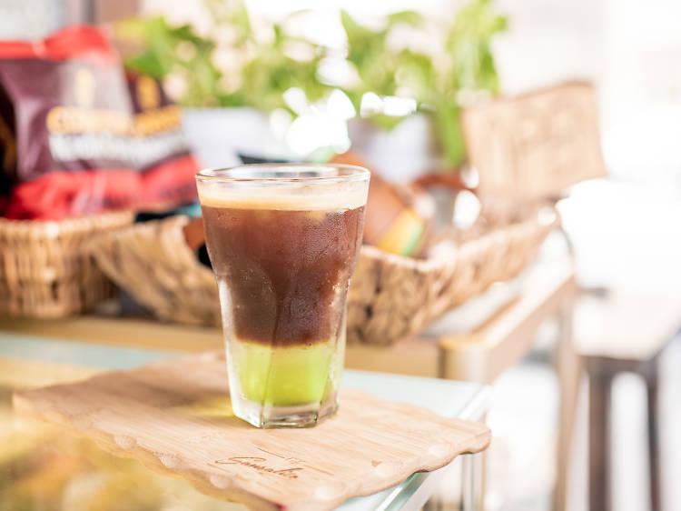 Café Sausalito︰青瓜咖氣梳打($42)