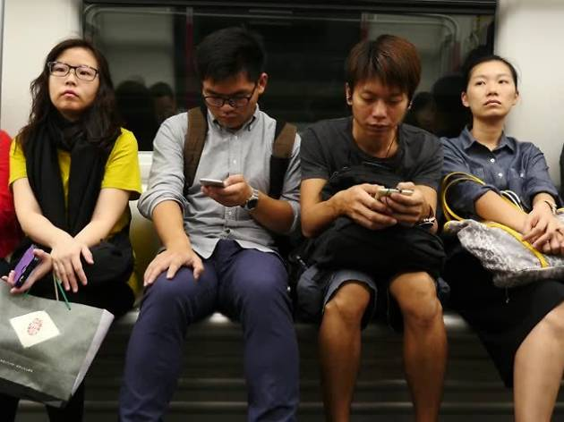 MTR phone watchers
