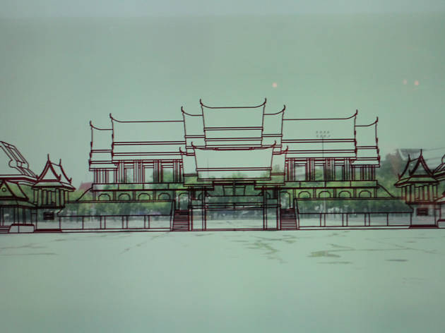 The Architectural Ensemble of Wang Na Exhibition