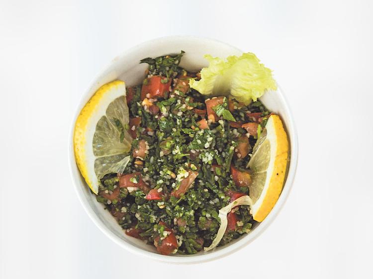 Três sítios para comer tabbouleh