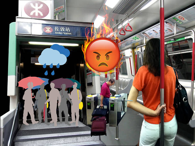 MTR angry