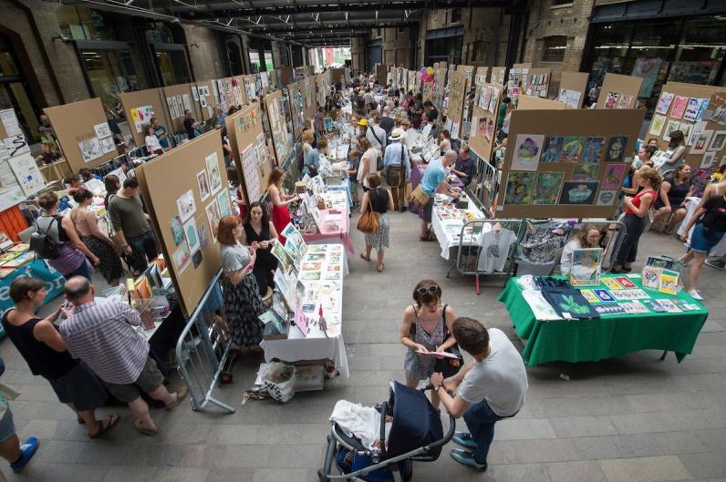 House of Illustration's Summer Fair