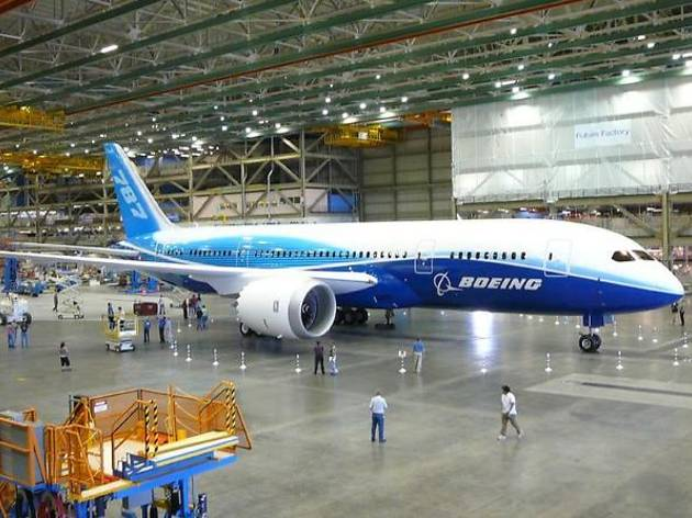 Boeing Factory Tour