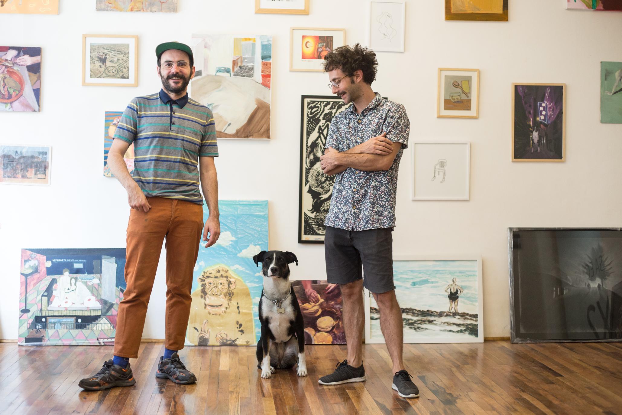 Diego y Carleti de Casa equis