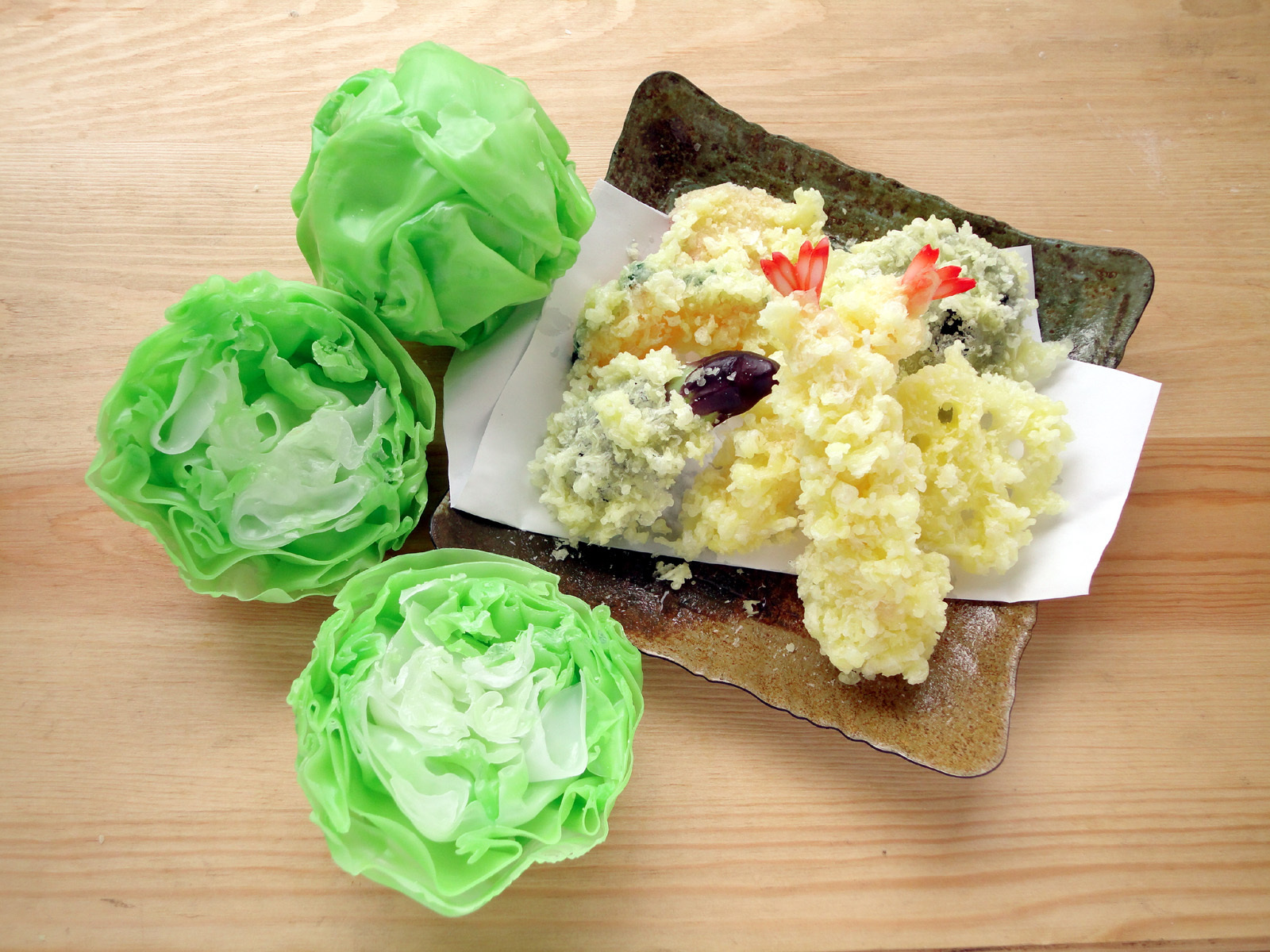 Ganso Shokuhin Sample-ya fake food