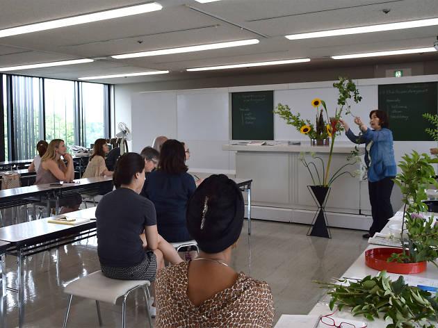 Sogetsu school of ikebana