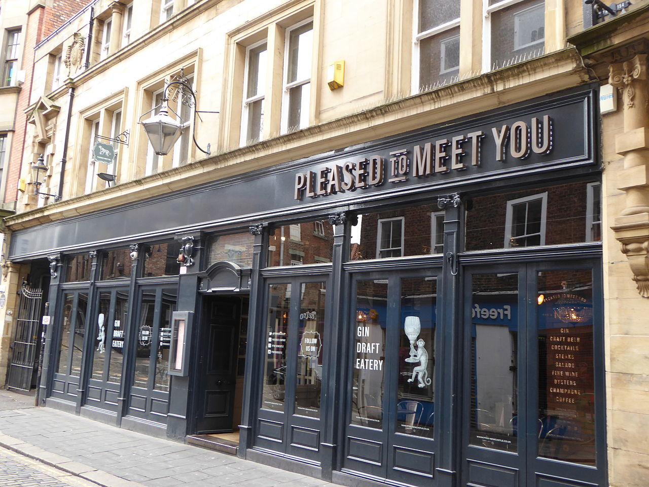 Pleased to Meet You bar, Newcastle, for Schweppes campaign