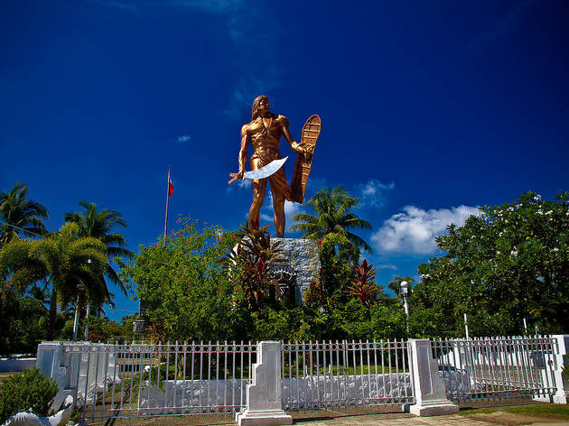 Cebu TTD Lapu-Lapu Shrine, 2018, from Wiki