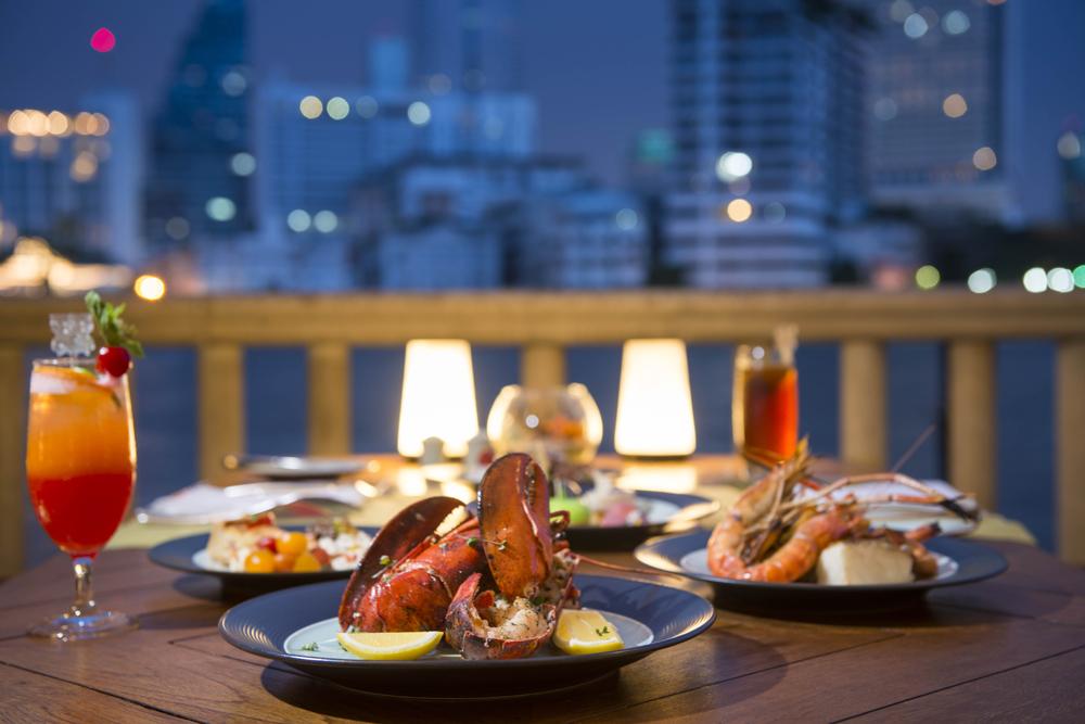 River Cafe & Terrace, The Peninsula Bangkok