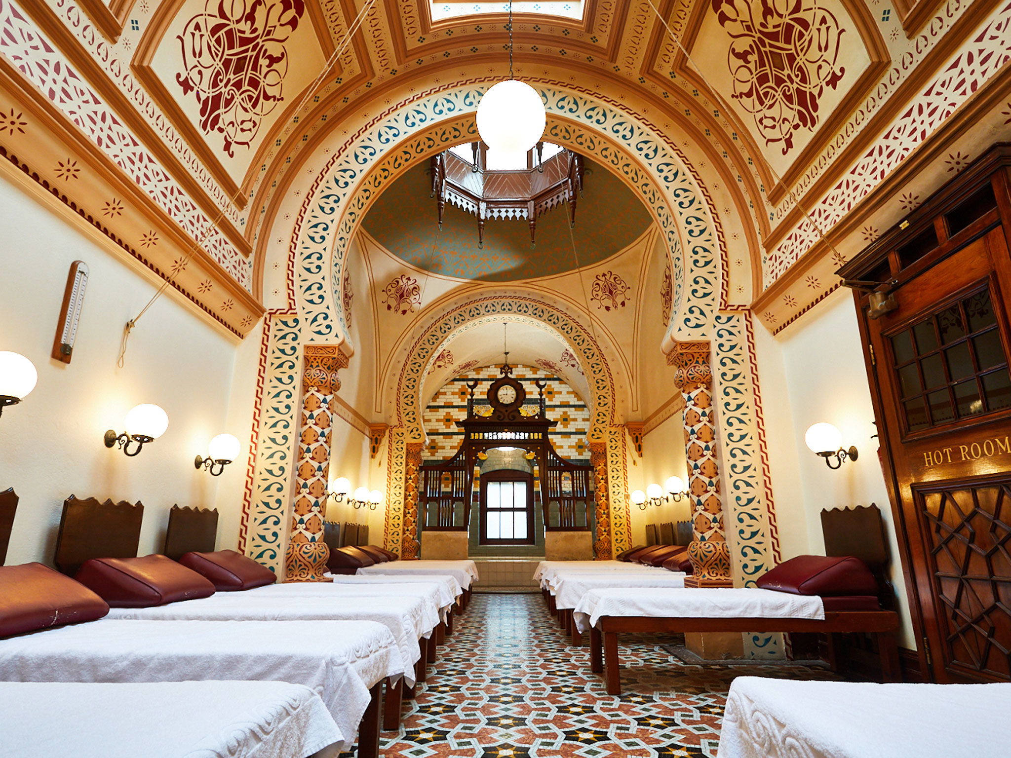 Harrogate Turkish baths - TTD Harrogate EITW