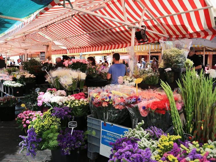 Marché Aux Fleurs Cours Saleya