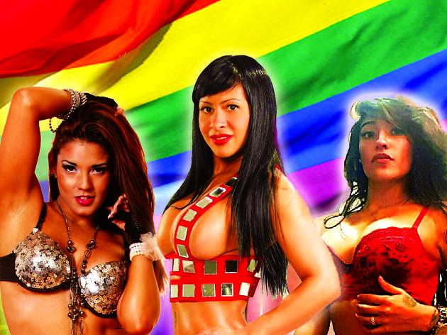 Gran fiesta lésbica