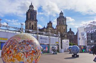 Ball parade en el Zócalo