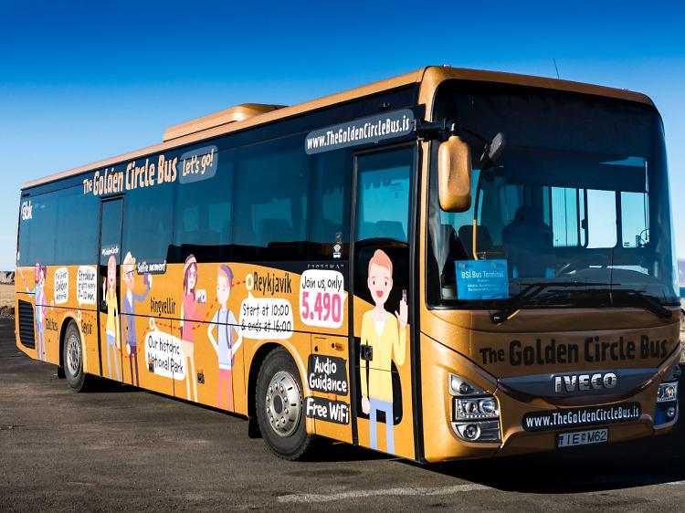 Golden Circle Bus Tour