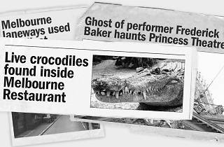 Urban Legends Melbourne Newspaper Clippings