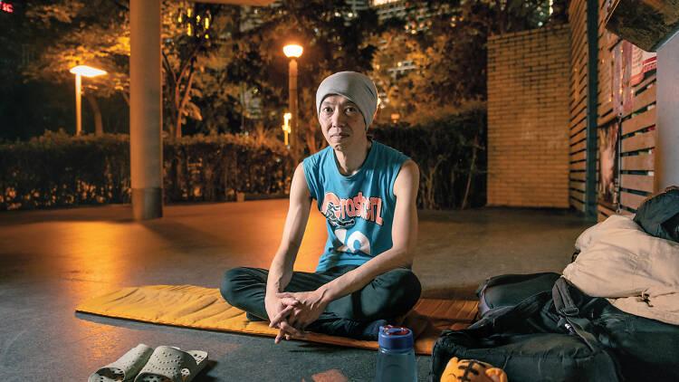 Simon Lee homeless blogger