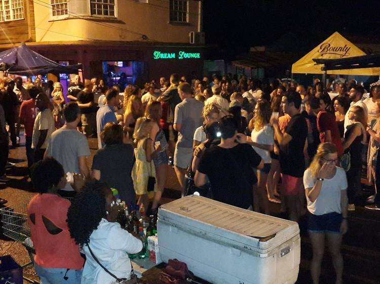 Party till the break of dawn at Gros Islet