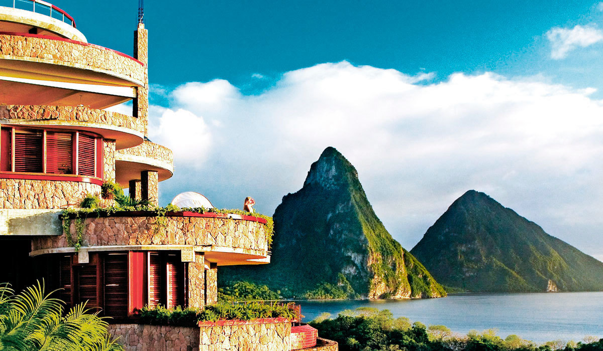 St Lucia TTD Jade Mountain Club
