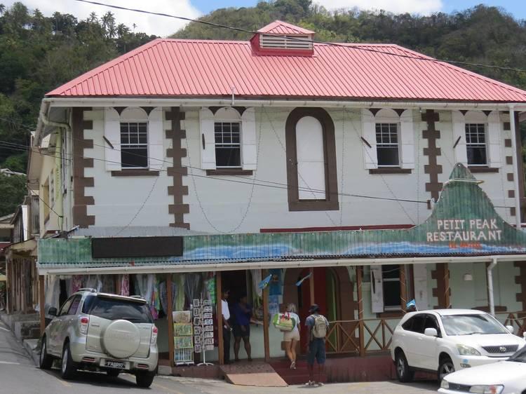 Eat local at Petit Peak
