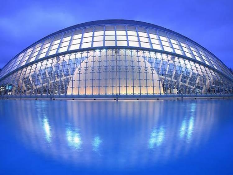 Endinsar-se en la Ciutat de les Arts i les Ciències a València