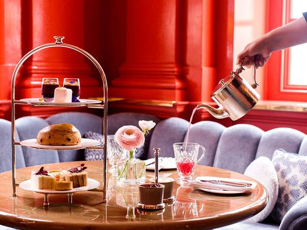 Afternoon tea at The Coral Room
