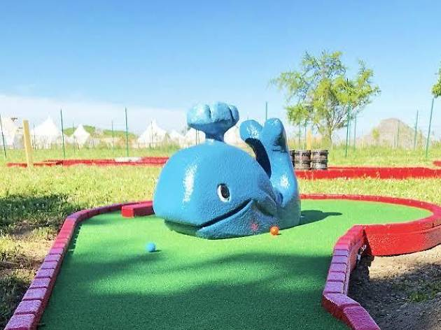 Adventures at Governors Island debuts a new mini golf course!