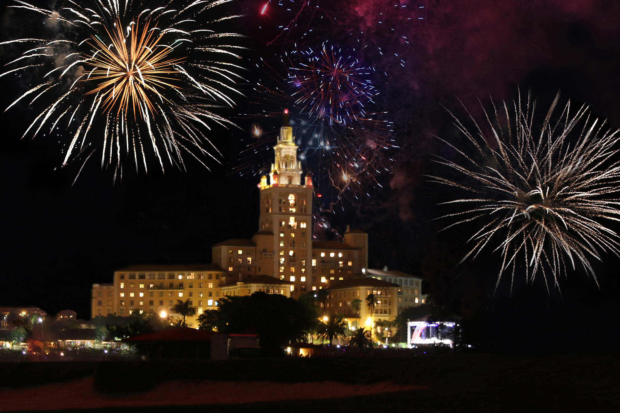 Biltmore Hotel Fourth of July
