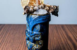 O cocktail tiki do El Cabrón