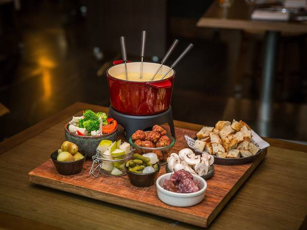 Brace for winter with cheese fondue