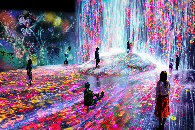 Resultado de imagem para digital art museum paris