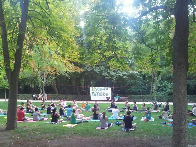 Yoga Patio en El Retiro