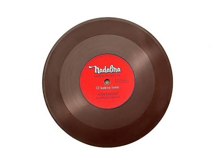 Chocolate vinyl by Nadalina