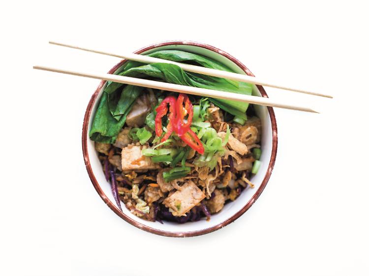 Fried Veggie Rice do Bao's Taiwanese Burger