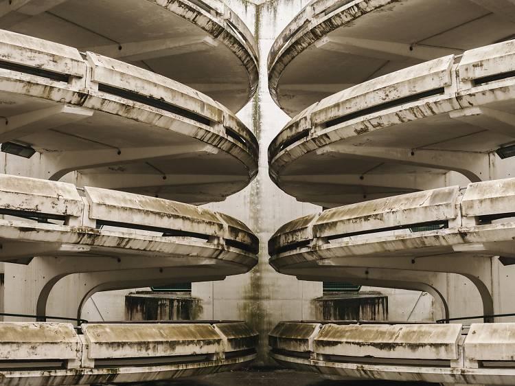 Le parking Double Hélice - Noisy-le-Grand