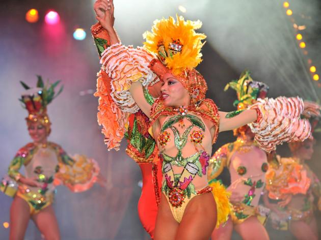 Tropicana dancer