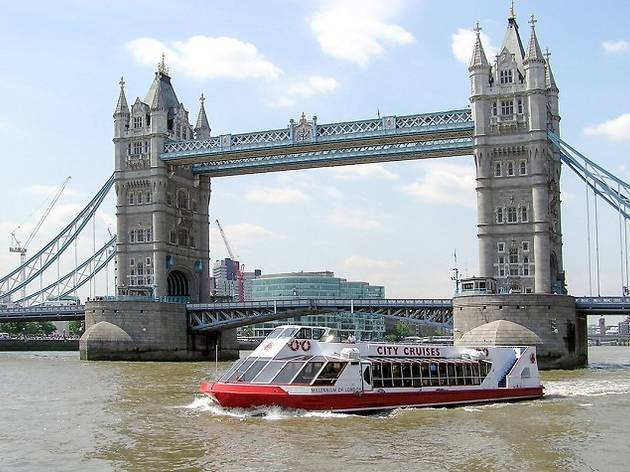 Thames cruise with afternoon tea for two