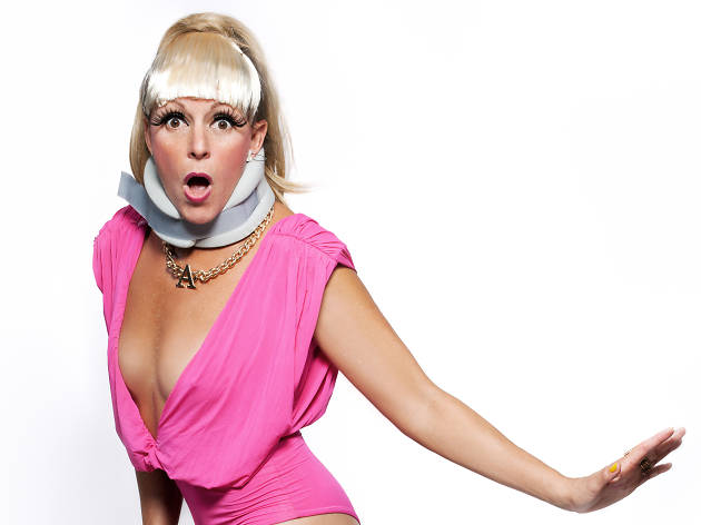 Adrienne Truscott's a One-Trick Pony (Or Andy K**fman is a Feminist Performance Artist and I'm a Comedian)